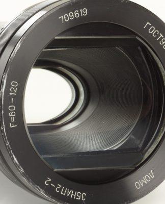 عدسی آنامورفیک یا Anamorphic lens