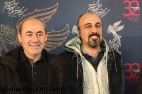 رضا عطاران در کنار کمال تبریزی