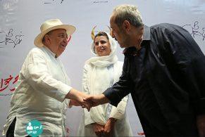 حمید نعمت الله، لیلا حاتمی، بهمن فرمان آرا در اکران خصوصی رگ خواب