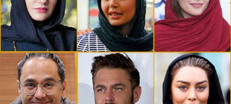 آمار فالوورهای بازیگران سینمای ایران