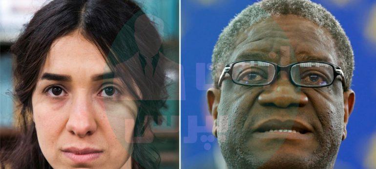 جایزه صلح نوبل به دو فعال حقوق زن تعلق گرفت