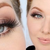 عید97 و روش آرایش صورت شیک برای دختران