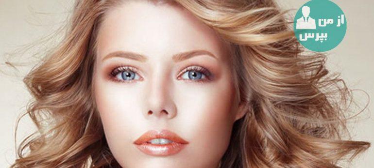 روش هایی برای آرایش صورت های گرد و توپر