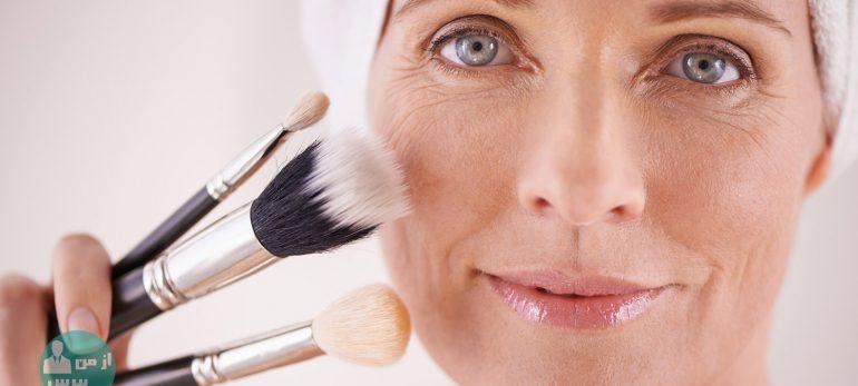 جوانی و زیبایی پوست با استفاده از ترفندهای آرایشی