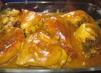 خورش مرغ