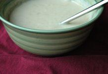 سوپ شیر برنج