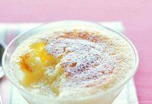طرز تهیه کیک کاستارد لیمو