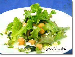 اموزش درست کردن سالاد یونانی