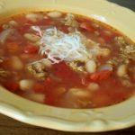 طرز تهیه سوپ سوسیس ایتالیایی