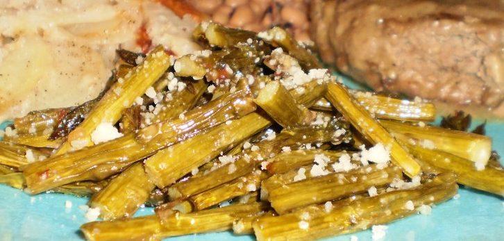 طرز تهیه مارچوبه ایتالیایی بو داده با پنیر پارمسان