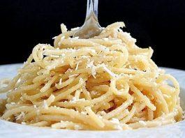 طرز تهیه اسپاگتی پنیری