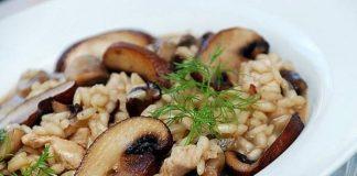 طرز تهیه قارچ پلو