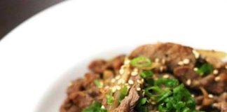 طرز تهیه خوراک گوشت