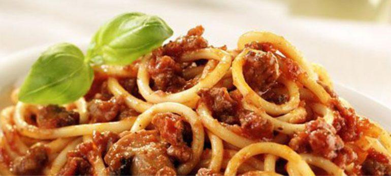 اسپاگتی کنا گلیو ای اولیو