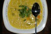 سوپ سبزیجات و جو