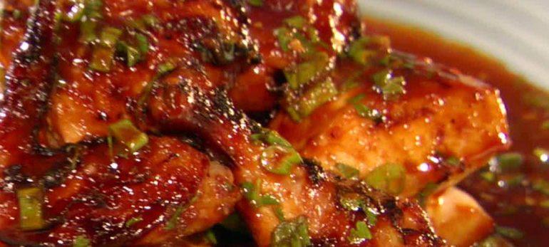 خوراک مرغ با سیر