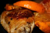 سینه مرغابی با آب پرتقال