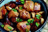 خوراک مرغ و انجیر