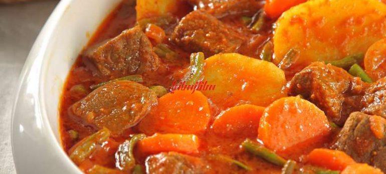 خوراک گرم لوبیا