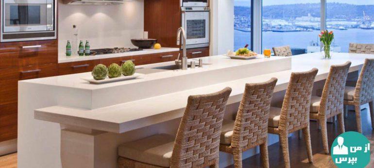 نکاتی در مورد دکوراسیون آشپرخانه و میز غذاخوری