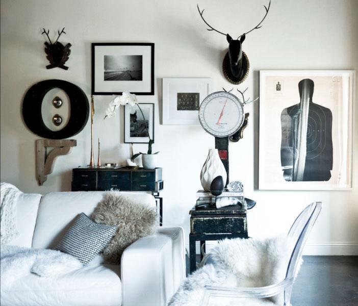چگونه دیوار خانه را با آلبوم عکس تزیین کنیم؟