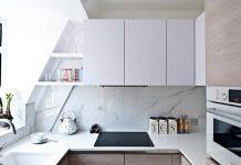 این ایده های ساده فضای آشپزخانه ی کوچک شما را بزرگ تر می کند.