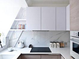 این ایده های ساده فضای آشپزخانه کوچک شما را بزرگ تر می کند.