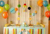زیبا سازی های متفاوت اتاق برای جشن تولد