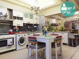 آشپزخانه ایده آل با کمترین هزینه داشته باشید