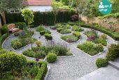 باغچه ی زیبا و مدرن با طرحی جذاب داشته باشید