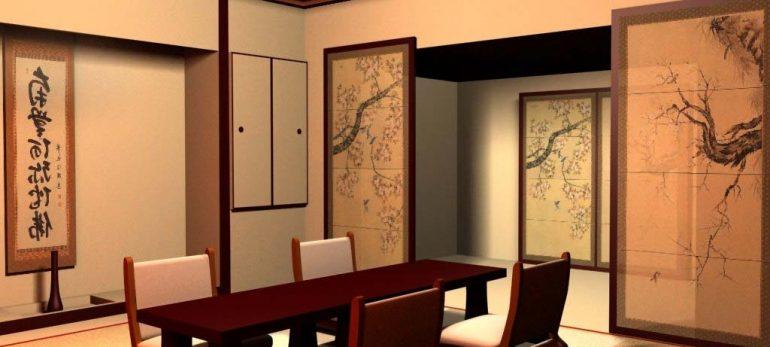 طراحی دکوراسیون خانه به سبک ژاپنی