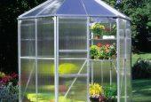 چگونه با استفاده از گلخانه خانگی حیاط زیبا داشته باشیم
