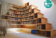 کتابخانه ای زیبا