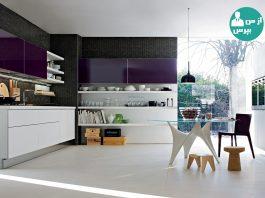 ایجاد تحولی رنگی در دکوراسیون آشپزخانه