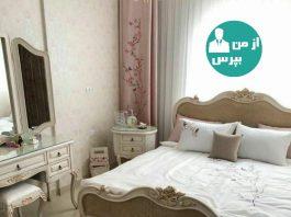 اتاق خوابی لطیف و زیبا به سبک انگلیش هوم