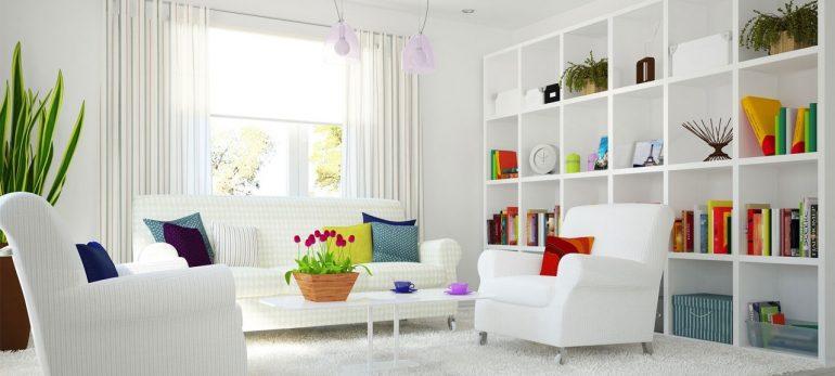 دیوارهای سفید خانه خود را زیبا و روح دار نشان دهید