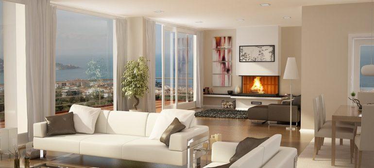 دکوراسیون نشیمن خانه خود را زمستانی طراحی کنید