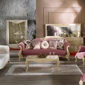 خانه ای زیبا و خاص با استفاده از مبلمان چوبی کلاسیک