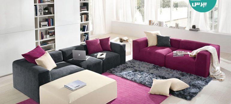 آرامش و راحتی در خانه های ایرانی با مبل راحتی مناسب