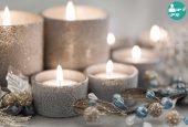 استفاده از شمع های تزئینی معطر و رایحه ای خاص  برای فضاهای خاص