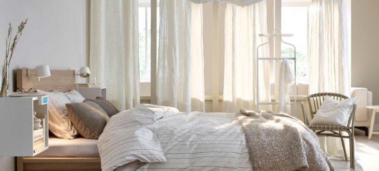 اتاق خوابی دو نفره و ایده آل با دکوراسیونی مناسب
