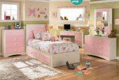 استفاده از رنگ مناسب برای اتاق خواب دخترانه