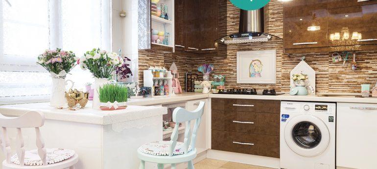 صندلی اپن تاثیرگذار در طراحی دکوراسیون داخلی آشپزخانه