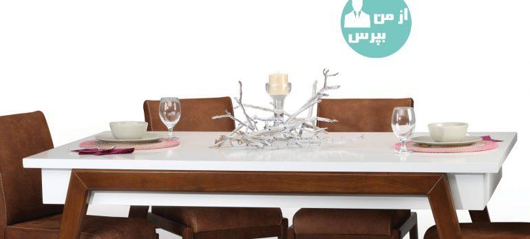 میز ناهار خوری مناسب با هر سبک دکوراسیون داخلی
