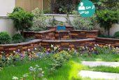طراحی حیات وحش کوچک در حیاط خانه و ایجاد فضایی سبز و خاص