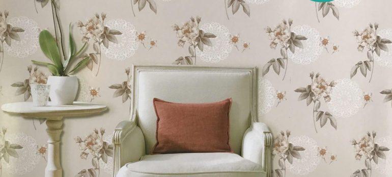 استفاده از کاغذ دیواری طرح دار و انتخاب بهترین فضای نصب آن در منزل