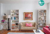 دکوراسیونی خاص برای ایجاد کتابخانه ای ویژه در منزل