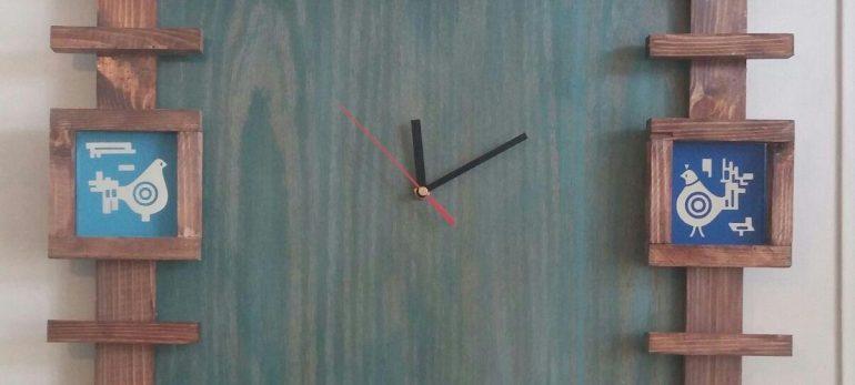 استفاده از ساعت دیواری فانتزی در دکوراسیون داخلی