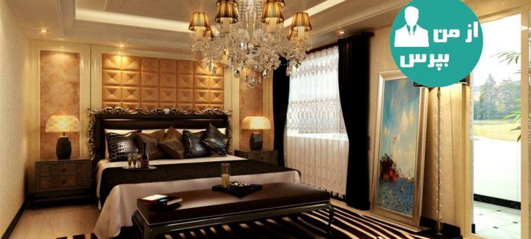 ایده هایی برای ایجاد دکوراسیون آرامش بخش برای اتاق خواب