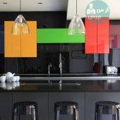 تعویض دکوراسیون آشپزخانه با استفاده از رنگ کردن آن ها